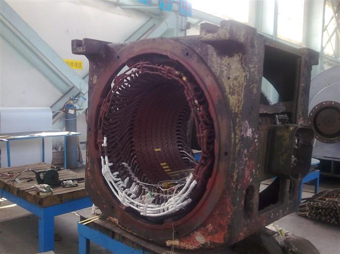 高压电机绕组绝缘故障原因及处理方法